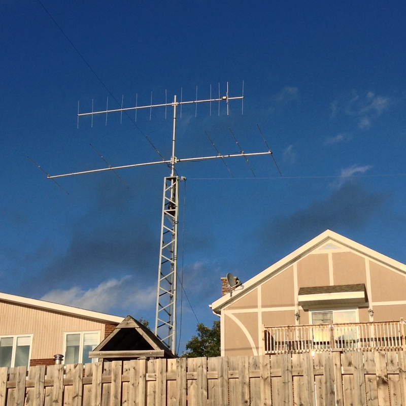 VA3AGX TOWER INSTALLATION